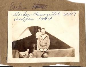 Borden Baumgartel World War I