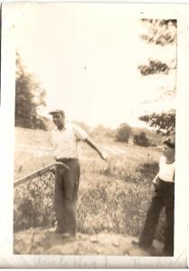 Hugh Pittman and Hugh O Howes circa 1941