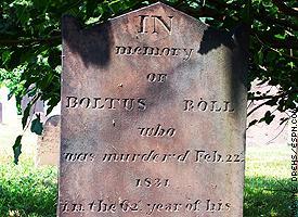 Baltus Roll Headstone