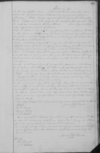 Will of James M Hunter 1796 -1867